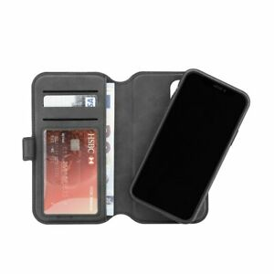 3SIXT Neowallet Leather Folio Case iPhone 11 Pro Max 6.5 inch - Black