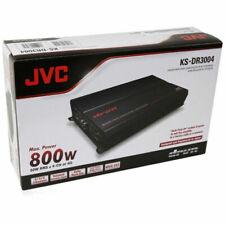 JVC KS-DR3004 800W DRVN Series 4-Channel Power Car Amplifier