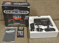 Sega Genesis Altered Beast Launch Console CIB Complete In Box 1989 Tested Works!