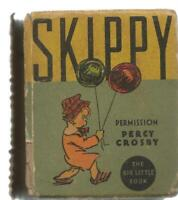 Story of Skippy ORIGINAL Vintage 1934 Whitman Big Little Book Percy Crosby