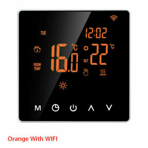 Home Smart Programmable Wifi Wireless Heated Digital Thermostat LCD App Control