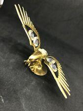 """SWAROVSKI 24k Gold Plated  """"EAGLE"""" FIGURINE"""