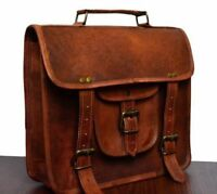 Men's Leather Handbag Briefcase Tote Laptop Shoulder Bag Messenger Satchel Bags