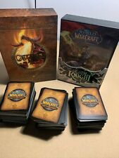LOT World of Warcraft Trading Card Game Death Knight Onyxia's Lair + Extra Cards
