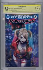 HARLEY QUINN #1 SS CBCS 9.6 AOD COLLECTABLES EXCLUSIVE