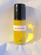 Coco Chanel Type 1.3oz Large Roll On Fragrance Perfume Women Body Oil