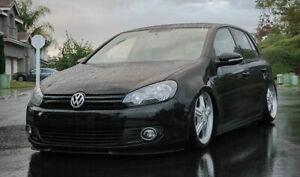 VW Golf Jetta MK6 6 MKVI Front Bumper CUPRA R Euro Spoiler Lip Valance Splitter