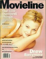 DREW BARRYMORE Movieline Magazine April 1994 4/94 GABRIEL BYRNE KRISTY SWANSON