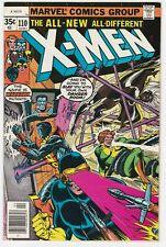 X-Men #110 VF+ 8.5 Wolverine Warhawk Cyclops Storm Colossus Chris Claremont