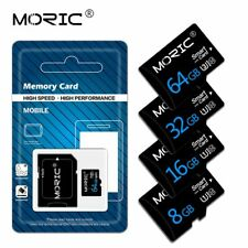 Micro SD Flash Memory 64GB 128GB 256GB TF Card High Speed Class 10 Plug and Play