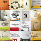 Wall Design PVC Removable Room Vinyl Decal Art DIY Wall Sticker Home Decor