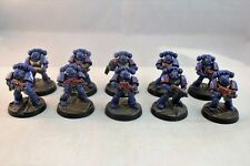 Warhammer Space Marine Ultramarines Tactical Squad Pro Painted
