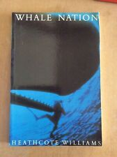 WHALE NATION by Heathcote Williams (paperback)