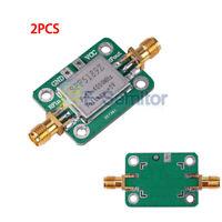 2PCS LNA 50-4000 MHz RF SPF5189 Low Noise Amplifier Signal Receiver NF = 0.6dB