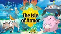 Isle of Armor - Galar Pokemon 🚀 Square Shiny Sword Shield