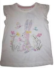 TU Girls' Short Sleeve Sleeve 100% Cotton T-Shirts, Top & Shirts (2-16 Years)