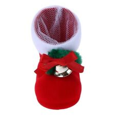 Christmas Candy Stocking Boots Mini Xmas Home Stocking New Year Decoration Gift