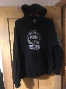 Gildan mens black hoodie Large