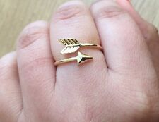 Golden Arrow Ring  / Thumb Ring Fully Adjustable - ladies gifts