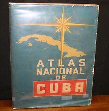 ATLAS NACIONAL DE CUBA. EN EL DECIMO ANIVERSARIO DE LA REVOLUCION HC IN DJ