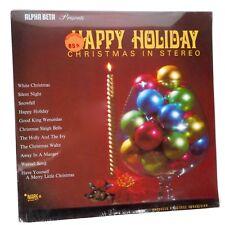 Rare VTG 60s SEALED Happy Holiday Xmas Wally Stott Orchestra Stereo Vinyl LP MCM
