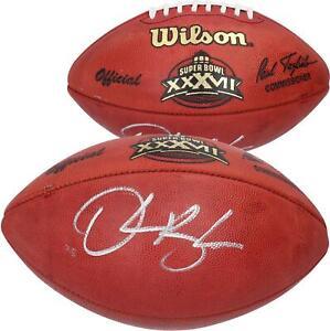 Derrick Brooks Tampa Bay Buccaneers Signed Wilson Super Bowl XXXVII Pro Football