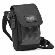 Camera Bag with Accessory Pocket , Shoulder Strap & Belt Loop + Cleaning Brush