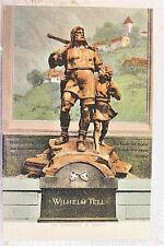 Switzerland William Tell Monument Altdorf Postcard Old Vintage Card View Post PC