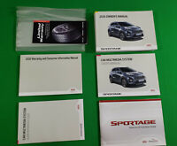 2020 KIA SPORTAGE OWNERS MANUAL W/NAVI SX EX S LX PREMIUM SXL TURBO OWNER KIT 20
