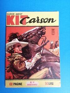 Collana Super West Kit Carson nm. 46  edizioni dardo condiz. ottimo