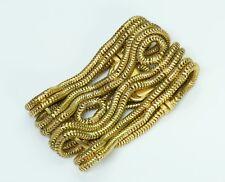 Vintage 1950's Hermès Gold Plated Chain Bracelet