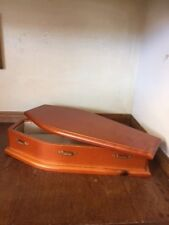 COFFIN 1;12TH SCALE FOR HALLOWEEN  OR DOLLS HOUSE UK POST FREE