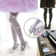 So Kawaii Girls Sky Carriage Castle Lolita Tights Pantyhose Cute Velvet 5 colors