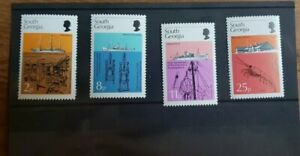 South Georgia 1976 50th Anniversary Discovery Investigations, MNH set