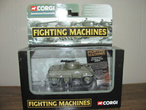 CORGI FIGHTING MACHINES M8 GREYHOUND ARMOURED CAR UNITED STATES MARINE CORPS