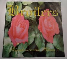 """Broilers - Schenk mir eine Blume 7"""" Single 1996 Scumfuck Mucke 025 Aufl. 500 Stk"""