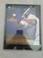 1997 Pinnacle Zenith 8 x 10 Tony Gwynn #19 HOF San Diego Padres MLB Dufex