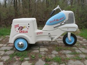 RARE~Vintage Murray GOOD HUMOR Ice Cream PEDAL CAR Delivery Truck!  a BEAUTY!