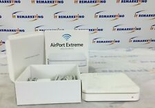 Apple AirPort Extreme 802.11n Wi-Fi Router (Md031Lla) A1408 In Box w/ components