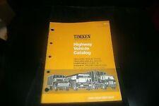 1966 - 1976 TIMKEN HIGHWAY VEHICLES TRUCKS BUSES TRAILERS BEARINGS CATALOG W APP