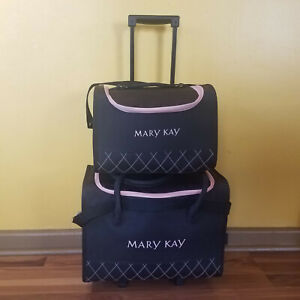 Mary Kay Consultant 2-piece Rolling Luggage Set, Matching cases, Travel