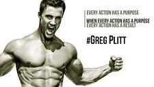 """035 Greg Plitt - American Fitness Model Actor 25""""x14"""" Poster"""