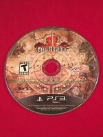 Last Rebellion (Sony Playstation 3, 2010) PS3 Game Only Tested VG Condition