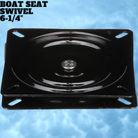"""Boat Seat Swivel Mount 6-1/4"""" Easy To Install And With No Noise When Turning New"""