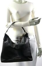 NWT $378.00 - MICHAEL KORS KARSON LARGE SHOULDER BAG LEATHER BLACK