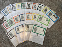 Large Lot Of Postal Commemorative Society First Day Covers In Vinyl Sleeves