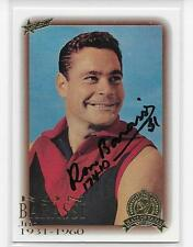 HALL OF FAME CARD HAND SIGNED BY RON BARASSI  / MINT