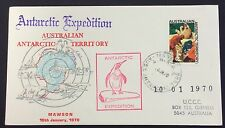 1970 AAT Antarctic expedition - Mawson base cancelled