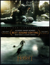 THE HOBBIT - The Battle of the Five Armies__Original 2015 Trade Oscar AD__Sound