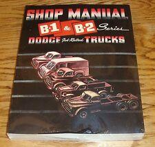 1948 1949 1950 Dodge Truck Service Shop Manual B-1 & B-2 Series 48 49 50